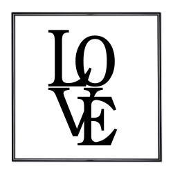 Bilderrahmen mit Spruch - Love 2