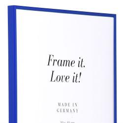 Bilderrahmen Kunststoffrahmen ART Blau