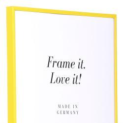 Bilderrahmen Kunststoffrahmen ART Gelb
