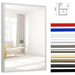Bilderrahmen Badezimmer-Spiegel Quadro aus Aluminium