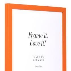 Bilderrahmen Holzrahmen Top Cube orange