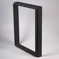 Bilderrahmen Ergänzungsset Unibox schwarz