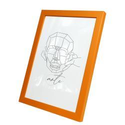 Bilderrahmen Kunststoffrahmen Vanessa Orange