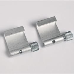 2 Stück Aluminium-Bilderhaken