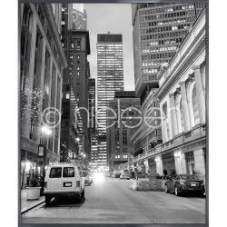 "Bilderrahmen Gerahmte Kunst ""New York Downtown"" mit Alurahmen Alpha"