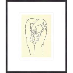 """Bilderrahmen Gerahmte Kunst """"Hommage 1932 von Matisse"""" mit Holzrahmen Quadrum"""