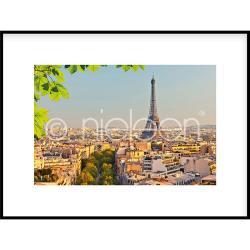 """Gerahmte Kunst """"Paris"""" mit Alurahmen C2"""
