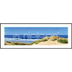 """Bilderrahmen Gerahmte Kunst """"Dune Ocean"""" mit Alurahmen C2"""
