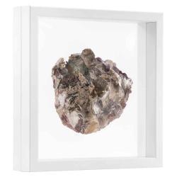 Bilderrahmen 3D Schweberahmen - 30x30 cm weiß
