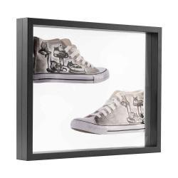 Bilderrahmen 3D Schweberahmen - 40x50 cm schwarz