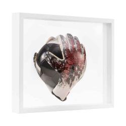 Bilderrahmen 3D Schweberahmen - 40x50 cm weiß