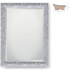 Holz-Spiegel Argento