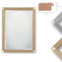 Bilderrahmen Holz-Spiegel Bonvicini