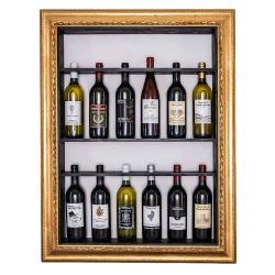 Bilderrahmen für Weinflaschen Toskana