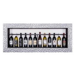 Bilderrahmen für Weinflaschen Piemont
