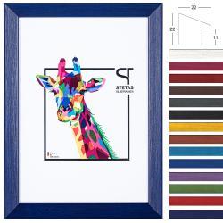 Holz-Bilderrahmen Rainbow