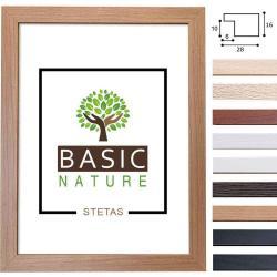 Bilderrahmen Holz-Bilderrahmen Basic Nature Maßanfertigung
