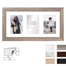 Galerie-Bilderrahmen NARVIK für 3 Bilder