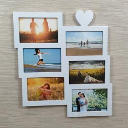 Galerie-Bilderrahmen 6 Bilder