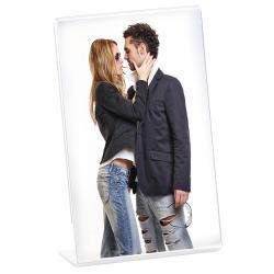 Bilderrahmen Acryl Portraitrahmen im Hochformat 9x13