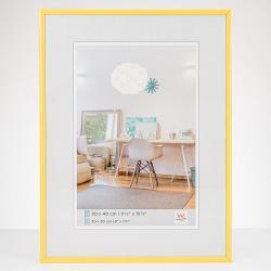 Bilderrahmen New Lifestyle Kunststoffrahmen Gelb