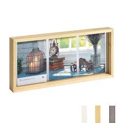 Bilderrahmen Galerierrahmen Rustic 3 Bilder