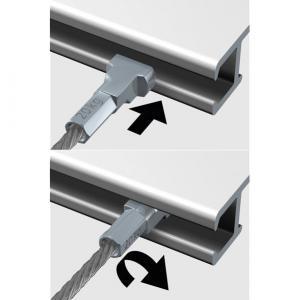 Stahlseil - Twister 2 mm