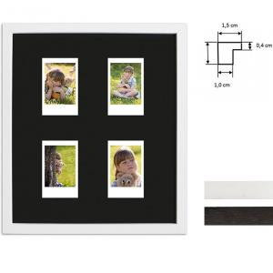 Bilderrahmen für 4 Sofortbilder - Typ Instax Mini