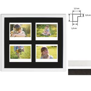 Bilderrahmen für 4 Sofortbilder - Typ Instax Wide