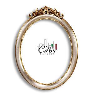 Oval-Bilderrahmen Cannuccio