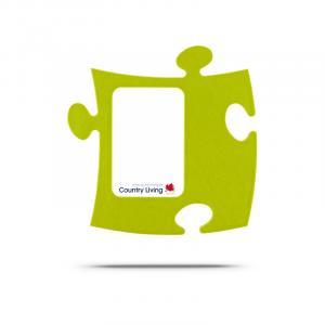 Puzzle Rahmen gruen