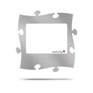 Puzzle Rahmen Alu-Look