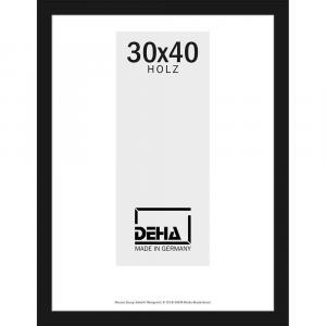 Distanz-Holzrahmen Zibal Sonderzuschnitt Buche schwarz deckend