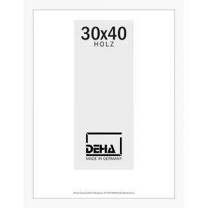 Distanz-Holzrahmen Zibal Sonderzuschnitt Buche Weiß deckend