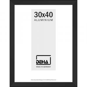 Distanz-Alurahmen Spika XL Sonderzuschnitt Schwarz matt
