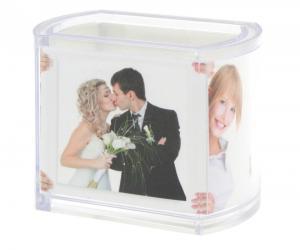 Foto-Serviettenring aus Kunststoff
