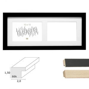 "2er Galerierahmen ""Habay"", horizontal"