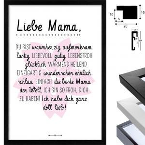 Familie - Liebe Mama