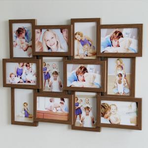 Wandgalerie für 12 Fotos