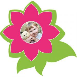 "Motiv-Passepartout ""Blume"""