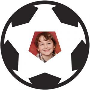 "Motiv-Passepartout ""Fußball"""
