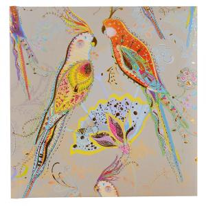 "Poesiealbum ""Silver Moon parrot"""