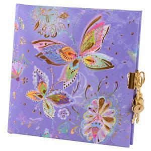"""Tagebuch """"Silver Moon purple"""""""