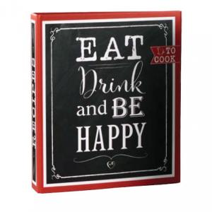 "Rezeptebuch ""Eat, Drink & Be Happy"""