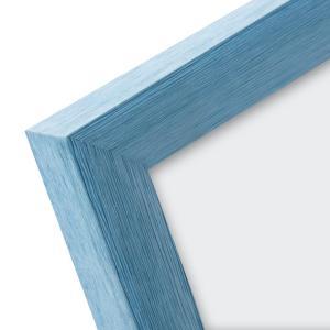 """Kunststoff-Bilderrahmen """"Colour up your life"""" blau"""