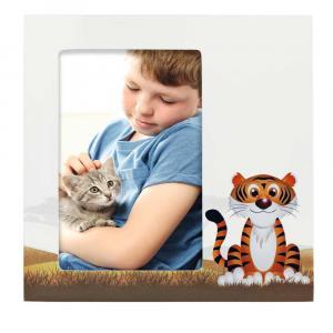Porträtrahmen Tiger Liam
