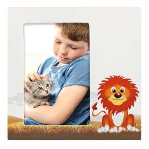 Porträtrahmen Löwe Leo