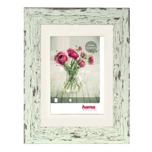 Kunststoffbilderrahmen Chalet Pastell-Mint