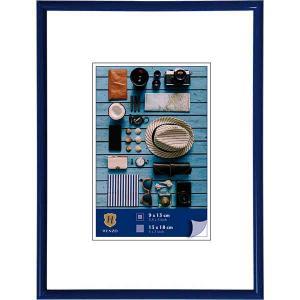 Kunststoff-Bilderrahmen Napoli blau