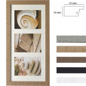 Galerierrahmen Driftwood für 3 Bilder
